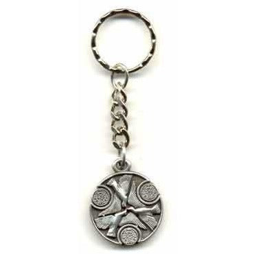 Doves of Peace Key Ring