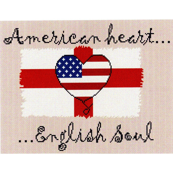 Celtic Obsessions American Heart English Soul Cross Stitch Pattern