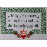Celtic Obsessions Irish Claddagh Blessing Cross Stitch Pattern