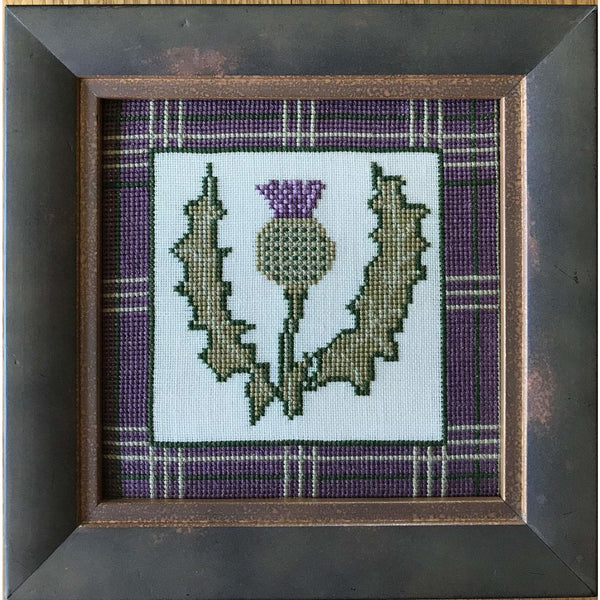 Celtic Obsessions Scottish Thistle Cross Stitch Pattern