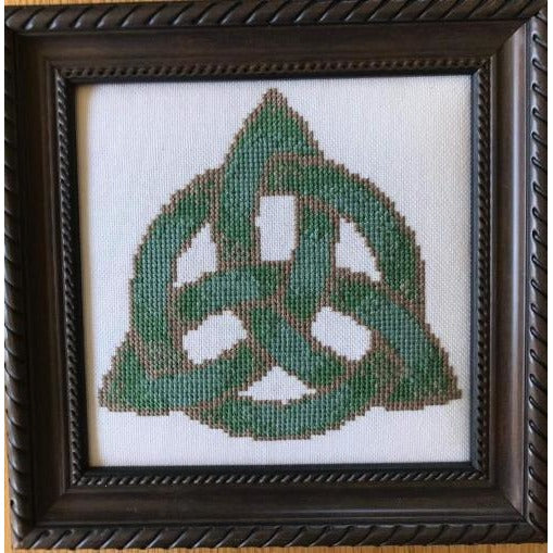 Celtic Obsessions Triquetra Knot Cross Stitch Pattern
