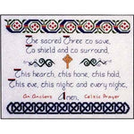 Countess Celtic Prayer Cross Stitch Pattern