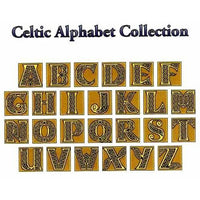 Celtic Alphabet- Cross Stitch Pattern