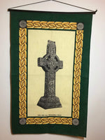 Tea Towel Irish Celtic Cross