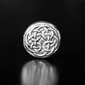 Celtic Disk Pewter Bead