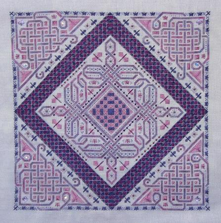 Northern Expressions Needlework Celtic Flutter Cross Stitch Pattern
