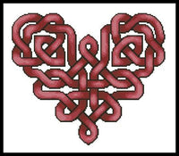 Artecy Celtic Heart Cross Stitch Pattern