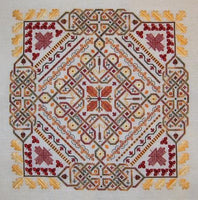 Northern Expressions Needlework Celtic Leaves Cross Stitch Pattern