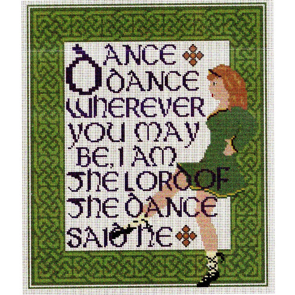 Celtic Obsessions Lord of the Dance Cross Stitch Pattern