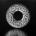 Celtic Rondo Bead Pewter Bead