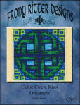 Frony Ritter Celtic Series Celtic Circle Knot Ornament Cross Stitch Pattern