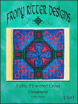 Frony Ritter Celtic Series Celtic Flowered Cross Ornament Cross Stitch Pattern