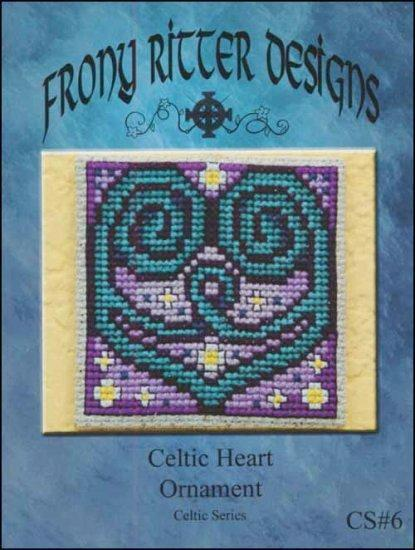 Frony Ritter Celtic Series Celtic Heart Ornament Cross Stitch Pattern