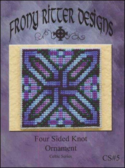 Frony Ritter Celtic Series Four Sided Knot Ornament Cross Stitch Pattern