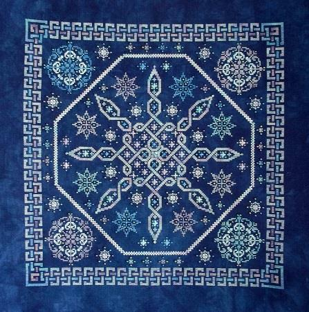 Northern Expressions Needlework Celtic Snow Cross Stitch Pattern
