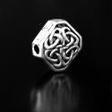 Celtic Spangle Pewter Bead