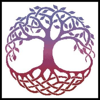 Artecy Celtic Tree of Life 2 Cross Stitch Pattern