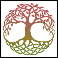 Artecy Celtic Tree of Life 4 Cross Stitch Pattern