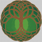 Artists Alley Celtic Tree of Life Spring Cross Stitch Pattern