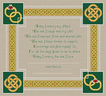 Artists Alley Celtic Wedding Memory Cross Stitch Pattern