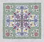 Northern Expressions Needlework Celtic Wings Cross Stitch Pattern