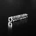 Celtic Long Bar Pewter Bead
