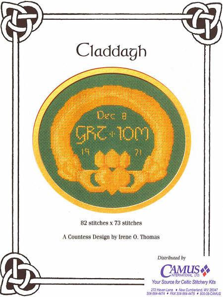 Claddagh Cross Stitch Pattern