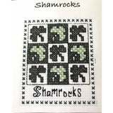 Claddagh Cross Stitch Shamrocks Cross Stitch Kit