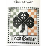 Claddagh Cross Stitch - Irish Banner - Cross Stitch Kit