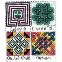 Claddagh Cross Stitch Irish Quilt Blocks Set 3