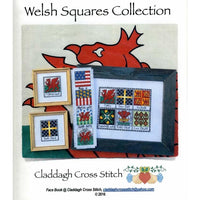 Claddagh Cross Stitch Welsh Squares Collection