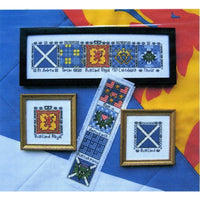 Claddagh Cross Stitch Scottish Heritage Quilt Blocks Collection