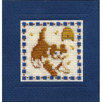 Textile Heritage Country Kitten Miniature Card Cross Stitch Kit