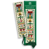 Textile Heritage Country Sampler Bookmark Cross Stitch Kit