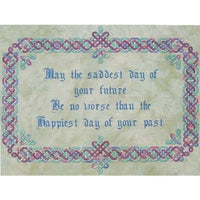 Dinky Dyes An Irish Blessing Cross Stitch Pattern