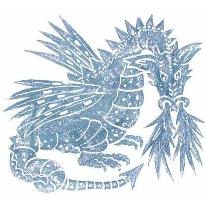 Brass Rubbing Kit Dragon
