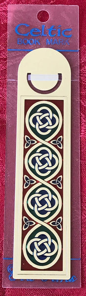 Sea Gems Enamel Metallic Bookmark Celtic Knot