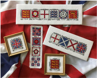Claddagh Cross Stitch English Squares Collection