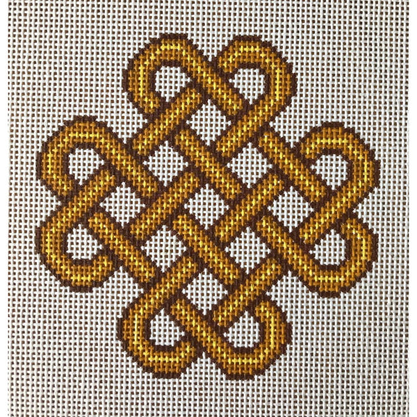 Epona Celtic Knot Hand Painted Needlepoint Canvases