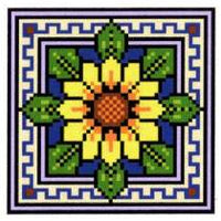 Landmark Tapestries & Charts Floral Pin Cushions Cross Stitch Pattern