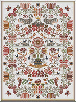 Long Dog Samplers Game of Swannes Cross Stitch Pattern