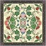Landmark Tapestries & Charts Arts & Crafts Glory Pillow Cross Stitch Pattern
