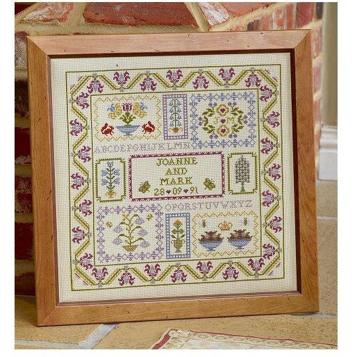 Historical Sampler Company Wedding Boxes Sampler Cross Stitch Pattern