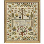 Historical Sampler Company Wedding Sampler Cross Stitch Pattern