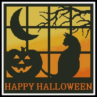 Artecy Halloween Square 3 Cross Stitch Pattern