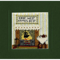 Textile Heritage Hame's Best Miniature Card Cross Stitch Kit