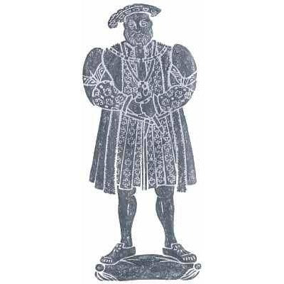 Brass Rubbing Kit Henry VIII