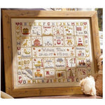 A is for Ark Birth Sampler Cross Stitch Pattern