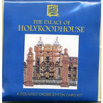 The Palace of Holyroodhouse Miniature Card Cross Stitch Kit