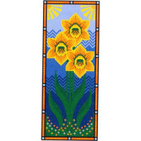 Long Daffodil Cross Stitch Pattern